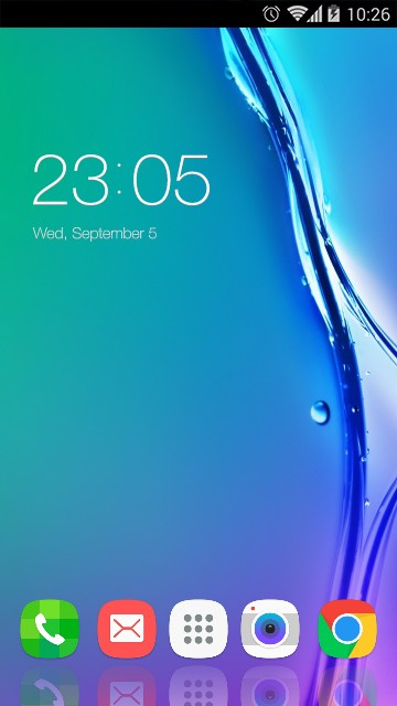 Theme for Samsung Z3 HD