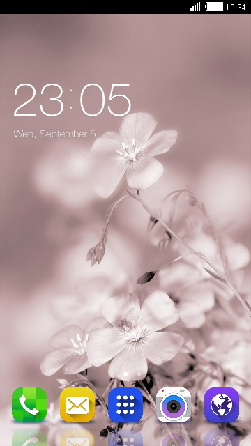 Flower Galaxy Wallpaper for Samsung Galaxy S III