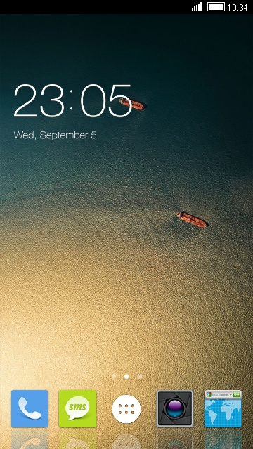 Theme for ZTE Blade A2