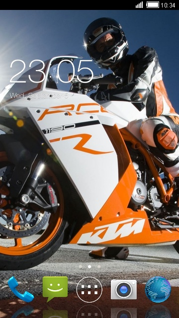 Themes for Xolo X1000 Motorcycle Wallpaper