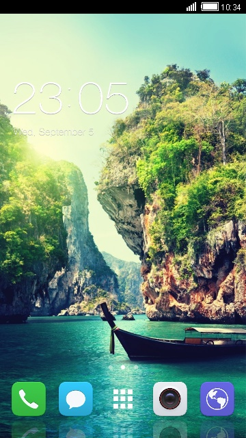 Funtouch OS Launcher Theme for Vivo V3 Wallpaper