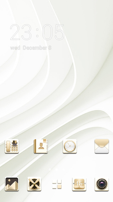 Abstract theme elegant white business wallpaper