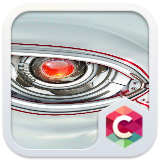 Theme for Oppo F1s: robot free android theme – U launcher 3D