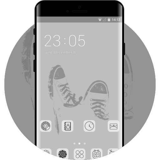 dc419a1dd898 converse free android theme – U launcher 3D
