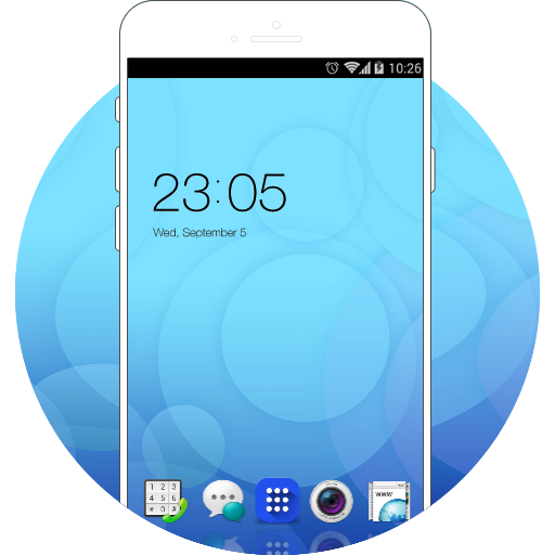 Theme for Oppo A33 free android theme – U launcher 3D