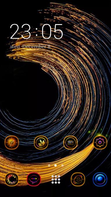 golden circles