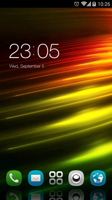 Theme for Nokia 500 HD