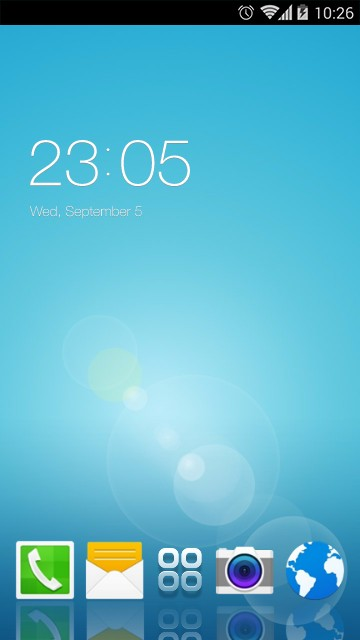 Theme for Samsung Galaxy S4 Mini HD