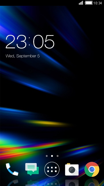 U11 HTC Launcher Theme & Wallpaper