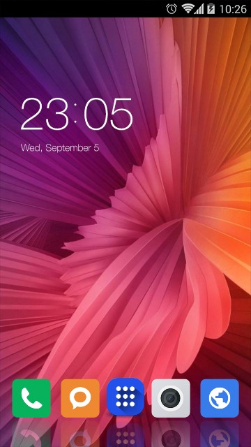 Theme for Xiaomi Mi 5c HD