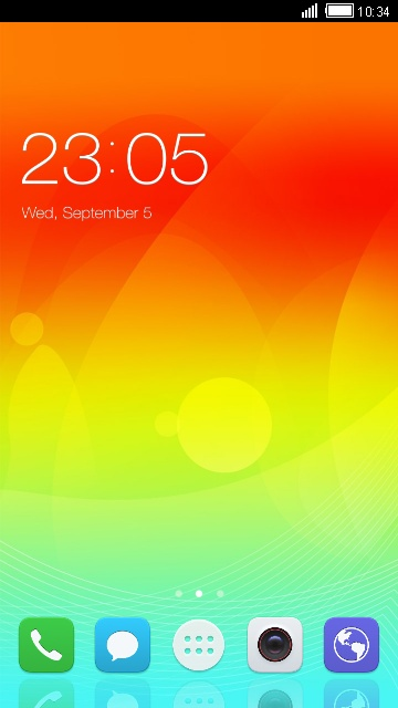Theme for Ascend P7 Sapphire Edition