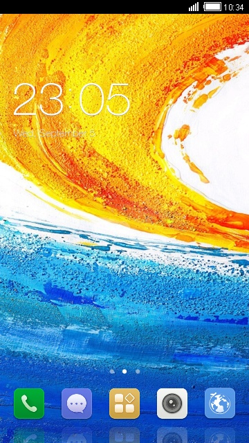 Theme for Gionee Elife E7