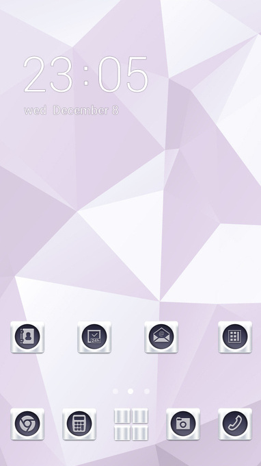 Abstract theme white smooth business wallpaper