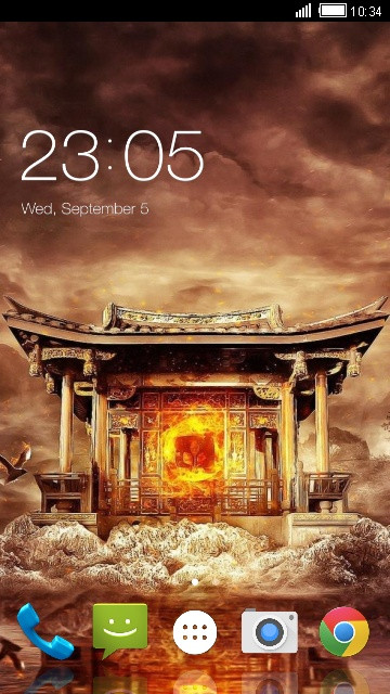 Theme for Karbonn K103 Plus Temple Wallpaper