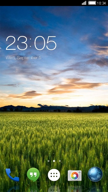 Theme for Micromax Canvas Play Nature Wallpaper