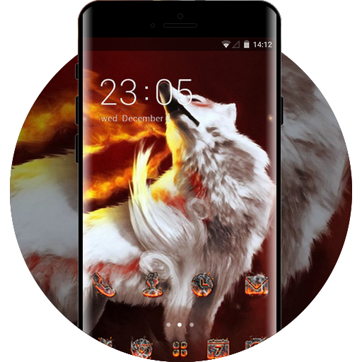 Animal theme abstraction fire wolf gray wallpaper free android animal theme abstraction fire wolf gray wallpaper voltagebd Gallery