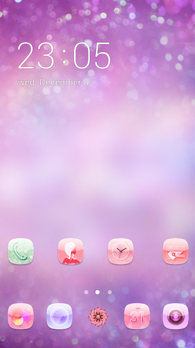 Abstract Pink theme