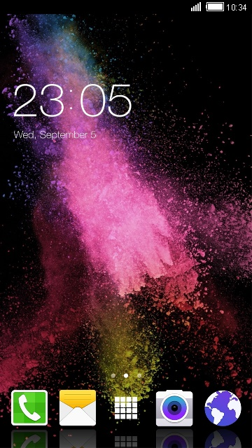 Colorful Theme for Samsung Z2 Launcher