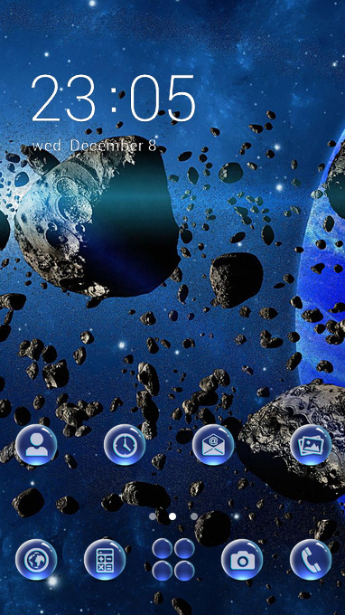 Rock space theme