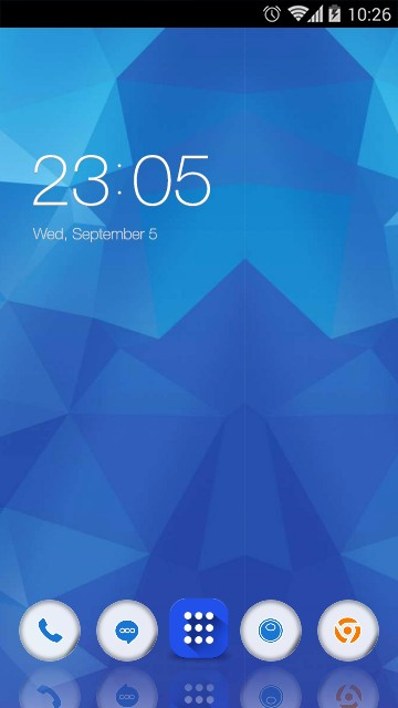 Theme for Samsung Z4 HD
