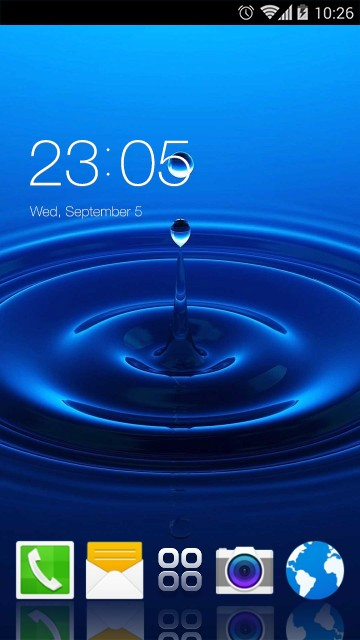 Theme for Samsung Galaxy Grand Quattro HD