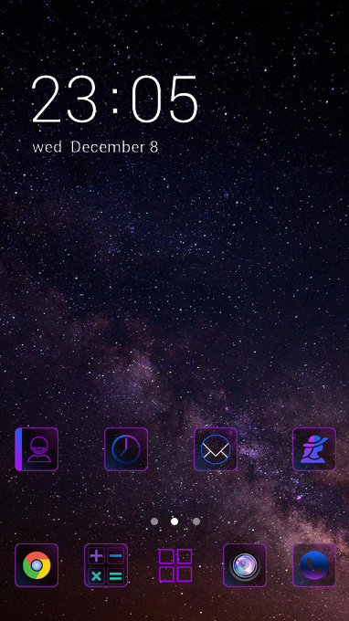 Download wonderful themes for your android phone clauncher space star altavistaventures Gallery