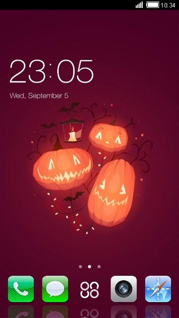 iPhone 6 Halloween Pumpkin