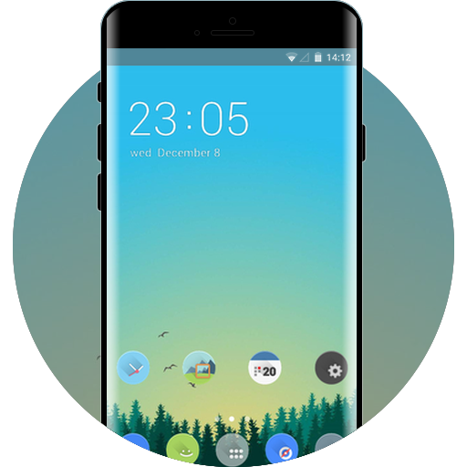 samsung galaxy note9 free android theme – U launcher 3D