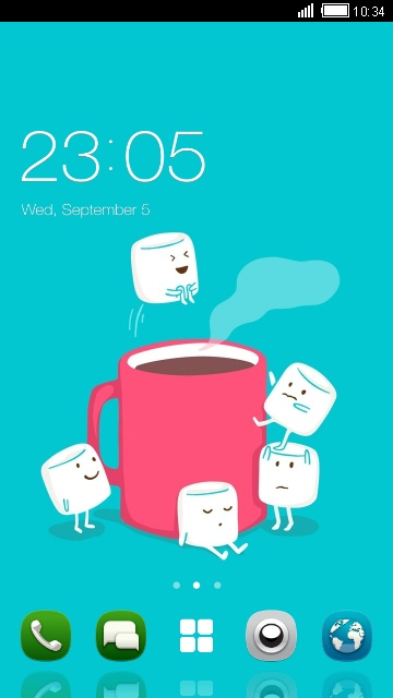 Cute Themes for Nokia 5