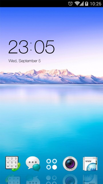 Theme for Oppo Neo 5 (2015) HD