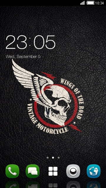 Theme for Nokia 8 HD: Cool Skull