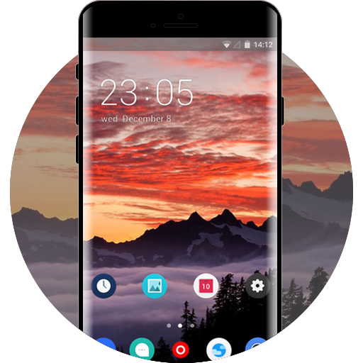 oppo a37 free android theme – U launcher 3D