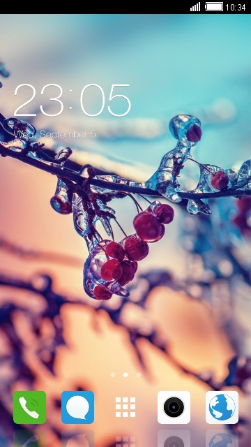 Winter Themes for Oppo A37