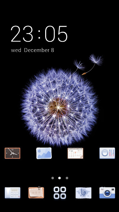 Dark Dandelion Theme