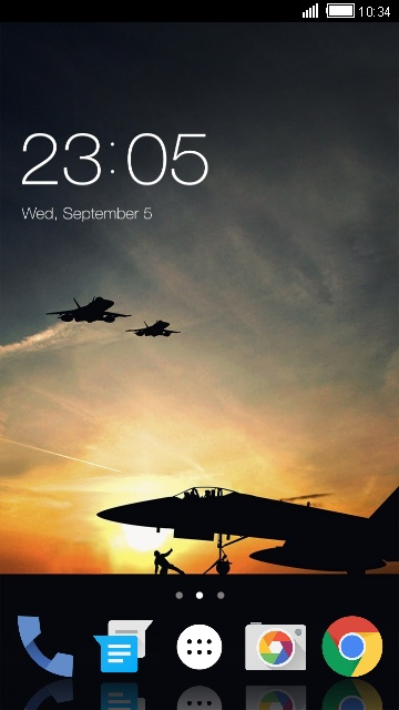 Theme for Lava 3G 415 Military Live Wallpaper