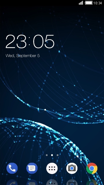 Abstract Indus Theme for Micromax Canvas Juice 4