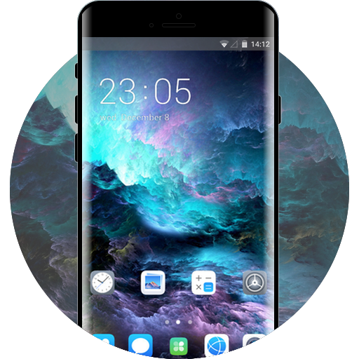 Oppo a7 free android theme – U launcher 3D