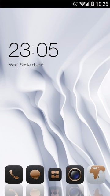 EMUI White Luxury Theme