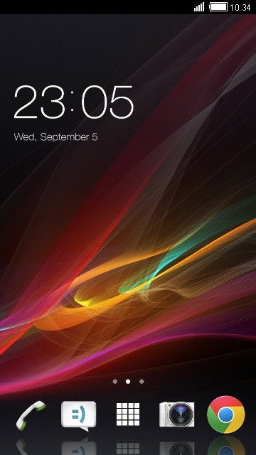 Theme for Sony Xperia SL