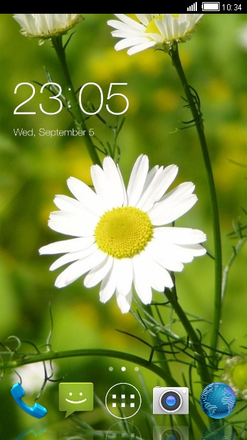 Nature Theme for Micromax X321 Flower Wallpaper