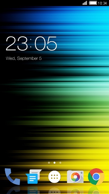 Abstract Theme for Panasonic Eluga Ray