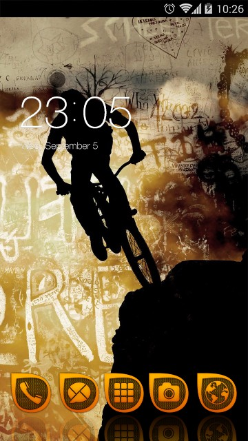 Cycling Theme Sports Live Wallpaper