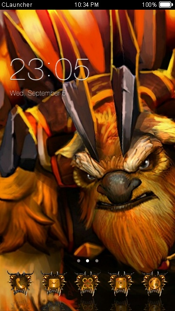 earthshaker theme