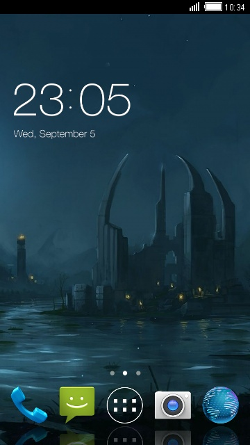 Mystical Theme for Micromax Superfone Lite