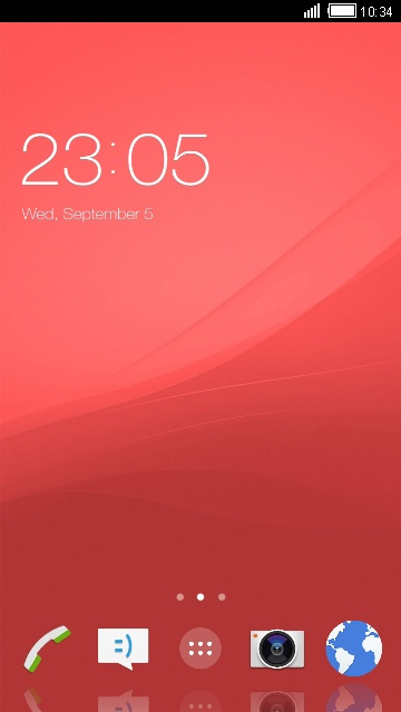 Theme for Sony Xperia Z1