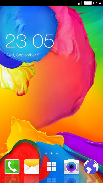 Theme for Samsung Galaxy Avant