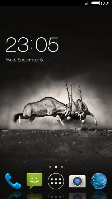Warrior Theme for Micromax Bolt S301