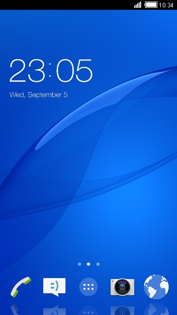 Themes for Xperia Z3 Compact