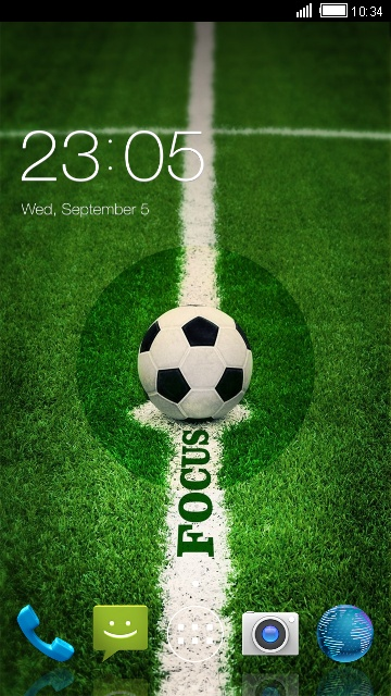 Footerball Theme for Micromax Bolt A37B