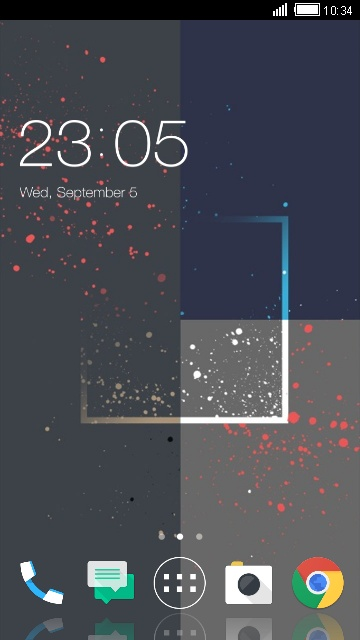 Theme for HTC Desire 825 Abstract Wallpaper